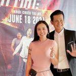 Đôi bạn thân Ngọc Ánh Kim và Võ Thành Tâm rủ nhau xem phim Lật mặt 48h tại Mỹ