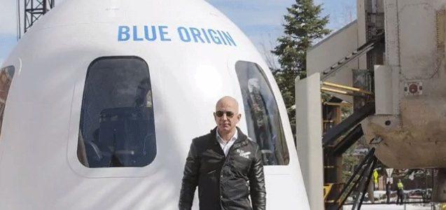 Tỷ phú Amazon sẽ cùng em trai bay vào vũ trụ