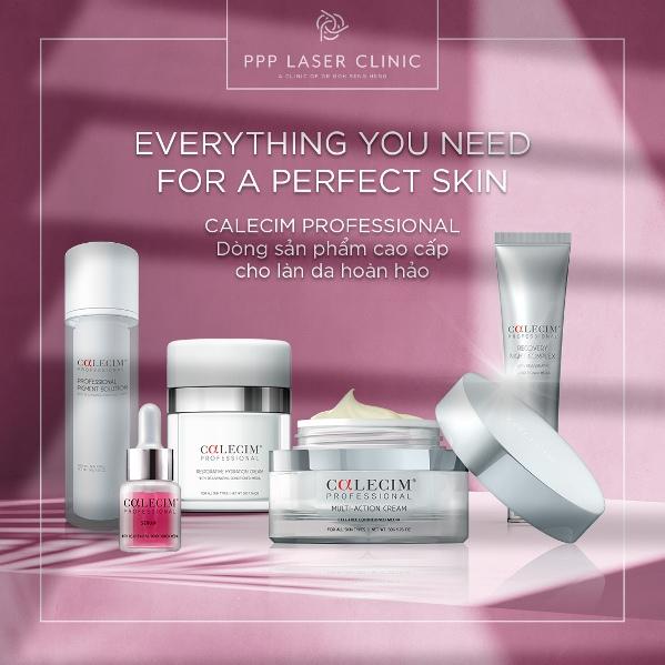 CALECIM Professional giúp phái đẹp có làn da sáng mịn đầy sức sống