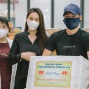 Thủy Tiên giao 100 tấn thực phẩm của Hà Tĩnh đến người dân Sài Gòn