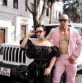 """""""Kiến càng"""" Phạm Hy và ca sĩ doanh nhân Thu Trang đọ sắc bên Jeep khủng"""