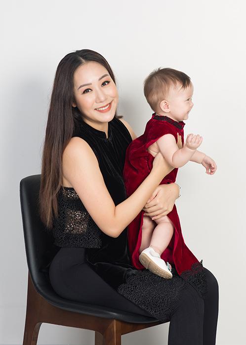 Làm mẹ là bước ngoặt lớn nhất trong đời Ngô Phương Lan